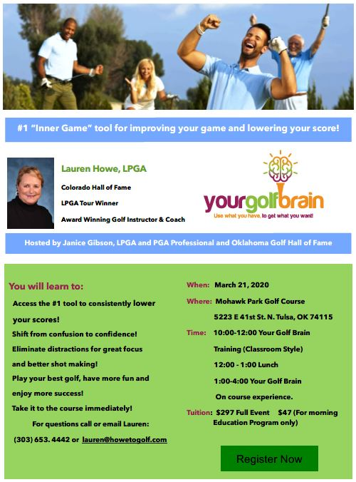 Your Golf Brain Event Tulsa 03-2020